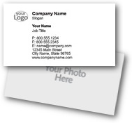 Logo & Image Business Cards
