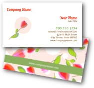 Tulip Bulbs Business Cards