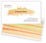 Watercolor Wash Business Cards