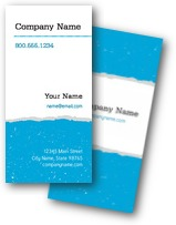 Ripped Paper Business Cards