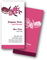Floral Buds Business Cards
