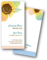 Shining Sunflowers Business Cards
