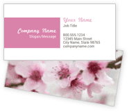 Cherry Blossom Business Cards