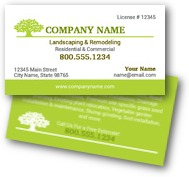 Zen Landscaping Business Cards