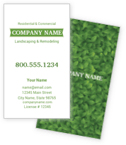 Green Landscape Business Cards
