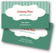 Elegant Stripes Business Cards