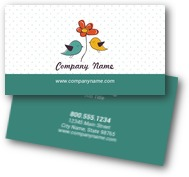 Tweet Birds Business Cards