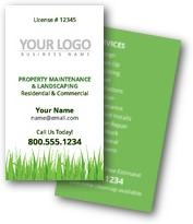 All Seasons Landscaping Business Cards