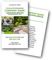 Beautiful Landscaping Business Cards
