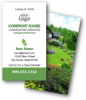 Lush Landscaping Business Cards