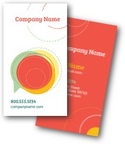 Summer Circles Business Cards