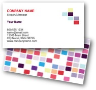 Colorful Boxes Business Cards