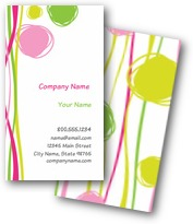 Color Doodles Business Cards