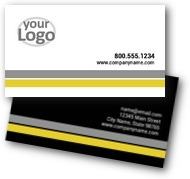 Pin Stripes Business Cards