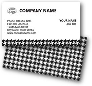 Houndstooth Business Cards