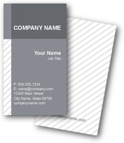 Pencil Stripes Business Cards