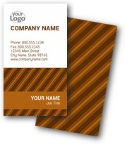 Classic Pin Stripes Business Cards