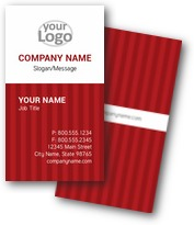 Balanced Stripes Business Cards