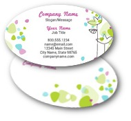 Flower Petals Business Cards