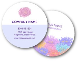 Gerbera Daisies Business Cards