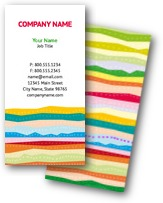 Tropical Lines Business Cards
