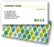 Pine Tree Business Cards