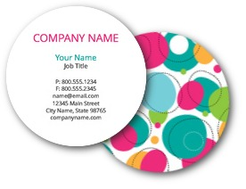 Circles & Dots Business Cards