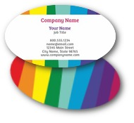 Bright Stripes Business Cards