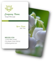 Lilies of the Valley Business Cards