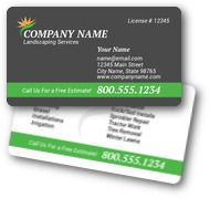 Professional Landscaping Business Cards