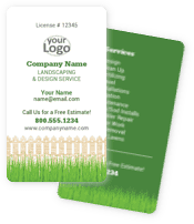 Classic Landscaping Business Cards