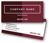 Ombre Business Cards